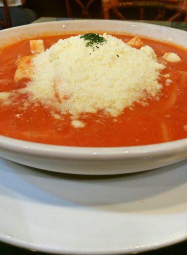 「はらっぱ」チーズトリオのトマトソース
