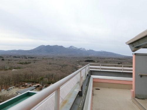 ホテルエピナール那須の展望台