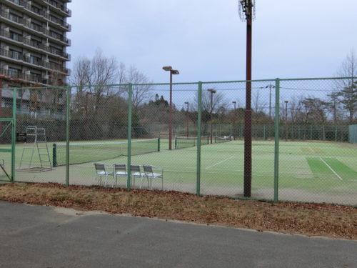 ホテルエピナール那須のテニスコート
